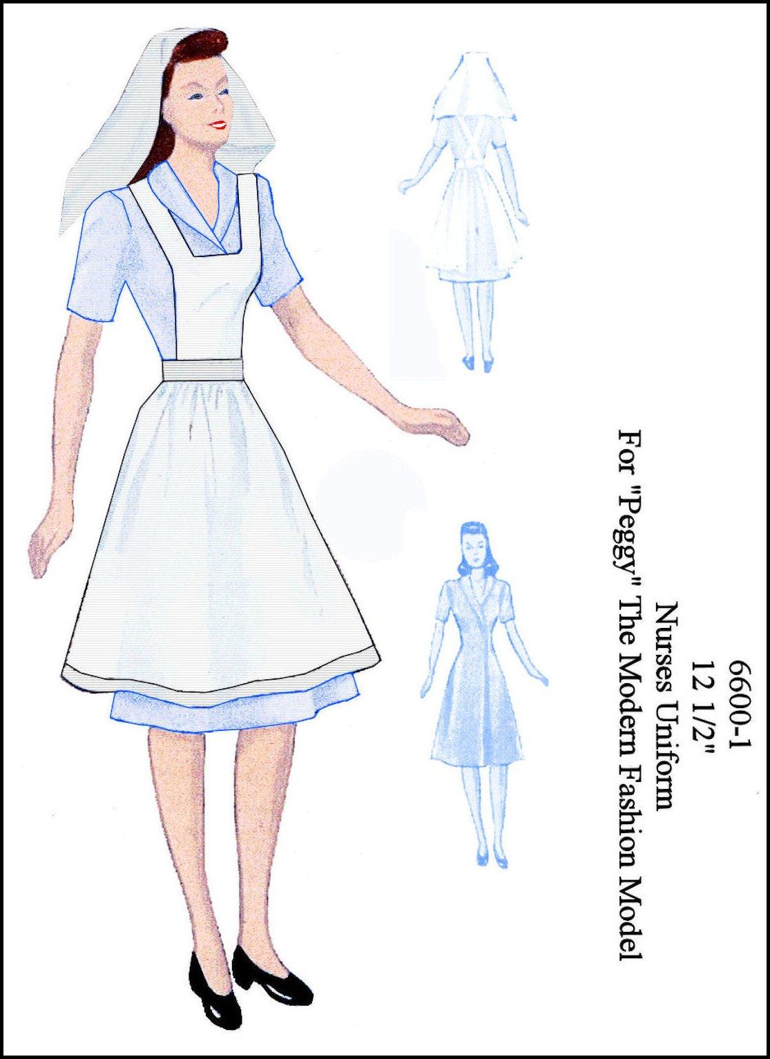 Nursing Uniform Patterns 119